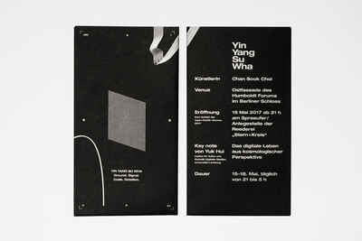 Front and back of the folded flyer.